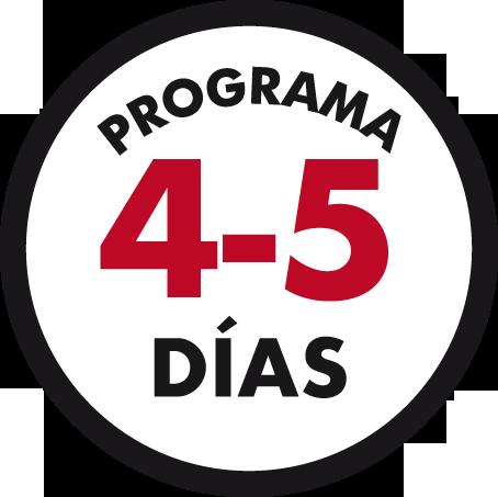 programa 4-5 dias