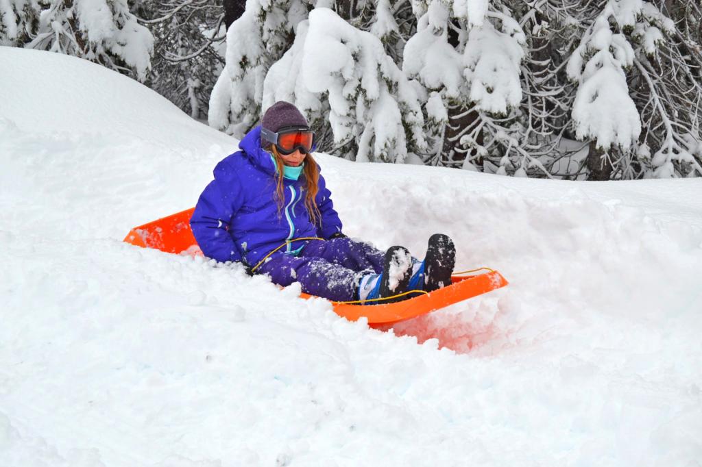 nieve trineo sierra madrid